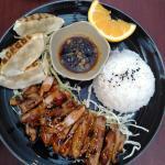 Teriyaki chicken and dumplings