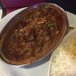 Generous portions and the goat curry is lovely, the meat its mild and tender