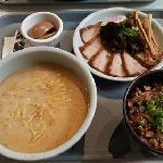 Tokusen Toroniku Ramen & Pork and Rice bowl