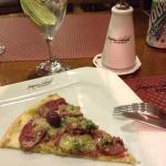 Pizza de cordeiro.. A melhor !!