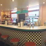 The Soda Fountain is reopen after a couple months of remodeling work!