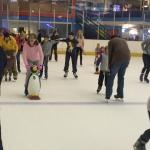Learning to skate with Mr penguin