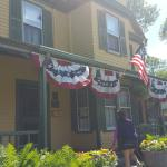 Main house ready for 4th of July