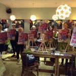 Canvas classes, taught by the very talented Hannah