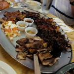 A platter of meat