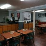 guest breakfast area