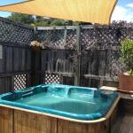 Relax and unwind in our private spa pool (hot tub)