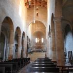 visione della Basilica dall'entrata