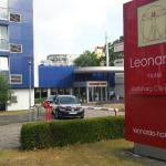 Eingangsbereich Leonardo-Hotel