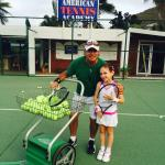 We loved being coach by Oliver!!! Both my daughter and I have improved on our tennis a ton. ��✌️