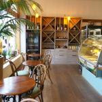Corny cafe - interior