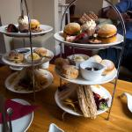 Afternoon tea at the Chocolate Deli in Worcester