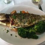 Grilled Sea Bass. Wonderful !