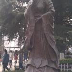 Statue of Mother of 1st Zhou emperor