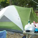 We had a tent and a camper on this site