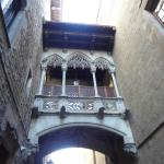 Portal del Bisbe, no Bairro Gótico!!!