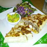 Best Chicken And Beef Combo Quesadillas