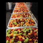 Fruit for catering