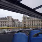 ein Blick vom Bus, gute Sicht