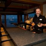 Bar area at Bluefin Grille at Bluefin Bay on Lake Superior