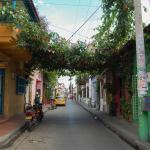 Calle Tripita y media donde se ubica el hostal