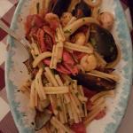 Mycket trevlig presentation. ..t o m Glutenfri pasta Pescatora kan man få☺