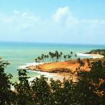 Praia maravilhosa, parece cartão postal.Limpa, cheia de coqueiros e com boa infraestrutura para