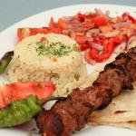 crevette; kofte: chicken wings ; filet mignon