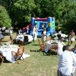 Outdoor family friendly wedding