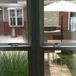 Next door to outdoor patio