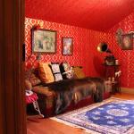 Klondike Kate's recreated sitting room