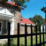 Side door of Henderson Hall