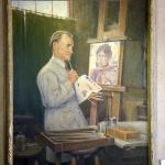 Portrait of Nicolai Fechin (by Clyde Forsythe)