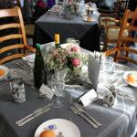Beautifully table settings