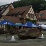 Gasthaus Krone from across the Plaza