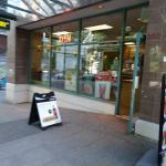 Subway on Robson Street