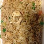 Great chicken fried rice!