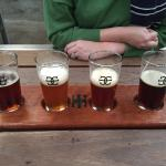 Pick your four favourites for a tasting paddle
