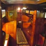 On board Thania