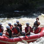 Rafting on the Menominee