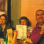 Family group @ Osteria dal Pampo - October 2004