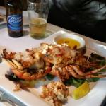 An incredible dinner at Bella's. 7/10, Friday.  Seafood faire.. amazing!
