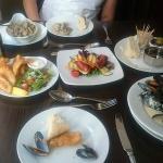 A selection of their tapas menu