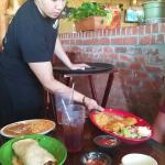 Our waiter was wonderful :)