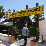 Ein Strandrestaurant auch ideal für ein Abendessen zu Zweit
