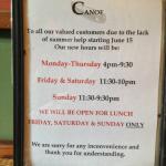 Canoe Restaurant Foto