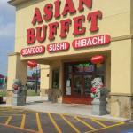 Asian Buffet exterior