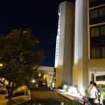 Entrée de l'Hotel de nuit