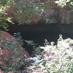 Entrance of caverns
