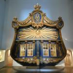 Stern of old royal ship in main museum building